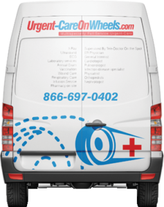 Urgent Care Mobile Van on Wheels